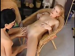 Incredible nipple sucking and pussy eating tubes