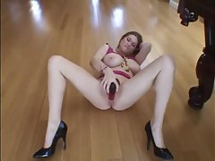 Big tits curvy girl and her fun with big dildos tubes