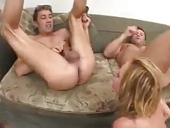 Big cocks fuck a blonde roughly tubes