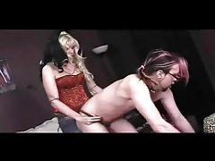 Femdom Strapon Punishment tubes