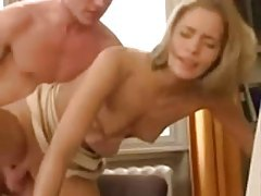 Young secretary fucked on the desk tube