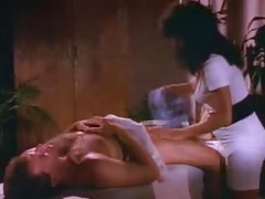Retro porn with shaving and stroking tubes