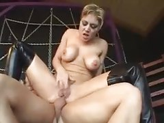 Boots beauty spreads legs for anal sex tubes