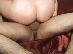 Close up views of fucking that ends in creampie tubes