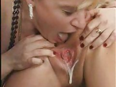 Big creampies put inside the gangbang slut tubes