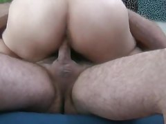 Asian GF sits on cock with wet pussy tubes