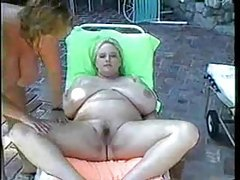 Fat chicks giving tit massages outdoors tubes