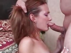 This pregnant girl is incredibly horny for cock tubes