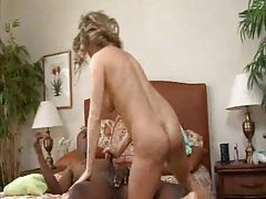 Curvy and big tit blonde and her black lover tubes
