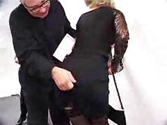 Anal sex with their secretary in stockings tubes