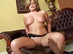 Black cock is big in her naughty box tubes