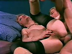 Retro blowjob and group anal porn tubes