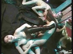 Amazing bisexual orgy with great fucking tubes