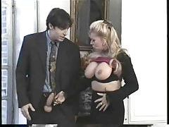 Seriously hot fisting action with BJ fun too tubes