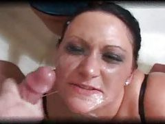 Compilation of Lisa Sparxxx cumshots tubes