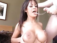 Angelina Valentine sucks a big cock tubes