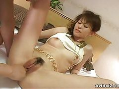 Cute Japanese petite babe blowjob and hardcore sex! tubes