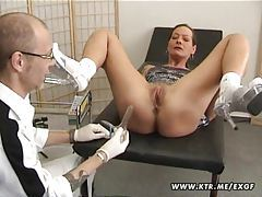 Mature amateur wife anal fuck with creampie cumshot tubes