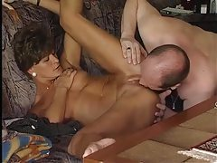 German milf gets her hubby off tubes