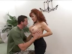 Groping a milf redhead with big boobs tubes