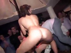 Girls dance and get dirty at a party tubes