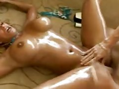 Screwing lusty Shyla Stylez in the bathroom tubes