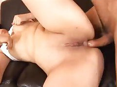 She wants their cumshots in her ass tubes