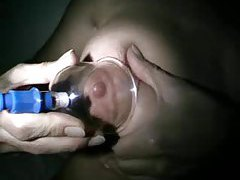 Suction cups make her big titties hurt tubes