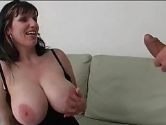 Chubby chick is happy to suck dick tubes