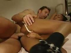 Fuck and a dreamy lesbian threesome scene tubes