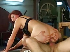 Cute mature redhead fucked in her cunt tubes