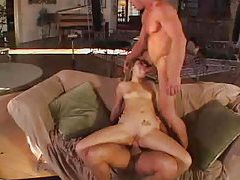 Owning a cutie anally and cumming on her tubes
