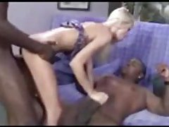Young and cute and fucked by two black dicks tubes