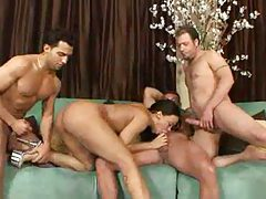 Three men and a black girl fuck tubes