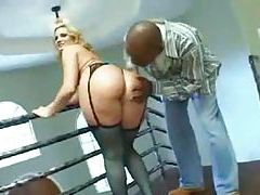 Fucking big ass blonde whore in the ass tubes