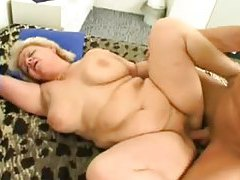Fat granny hardcore sex with young guy tubes