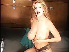 Leopard print panties on a webcam milf tubes