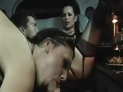 Sex in a limousine with two insanely hot women tubes
