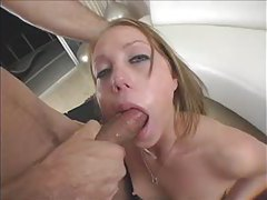 Teen Shawna Lenee sucking cock and fucking in POV tubes