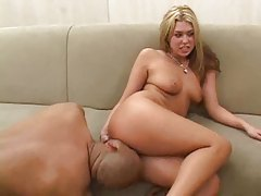 A black cock double penetration for this hottie tubes