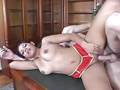 Sex in his home office with a hottie tubes