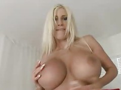 Solo babe Puma Swede has huge fake tits tubes