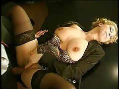 Hot babe wants hot anal in the office tubes