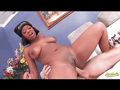 Black slut deserves a hard double penetration tubes