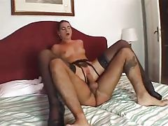 Hairy box on this skinny girl taking big cock tubes