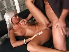 White hair Euro slut with big tits fucked tubes