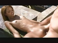Skinny Latin girl hardcore and facial outdoors tubes