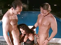 Group sex outdoors with gorgeous women tubes