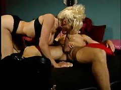 Horny hot bimbo fucked in her tight pussy hole tubes