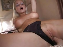 Silvia Saint sucks cock in hotel room tube